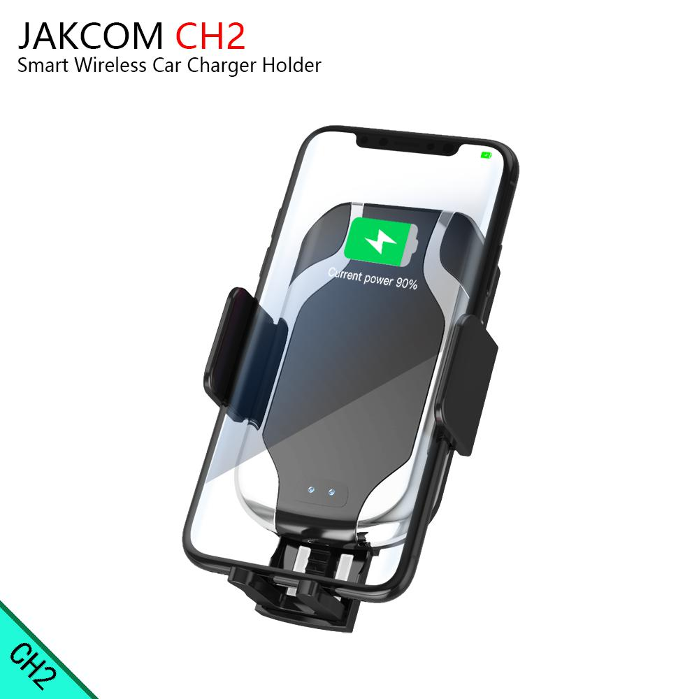 JAKCOM CH2 Smart Wireless Car Charger Holder Hot sale in Chargers as carregador portatil para font