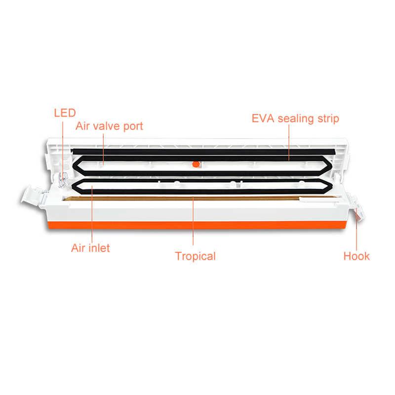 ATWFS Vacuum Food Sealer Kitchen Packing Sealing Machine Food Saver Packaging with Vacuum Bag 1500cm*20cm/roll