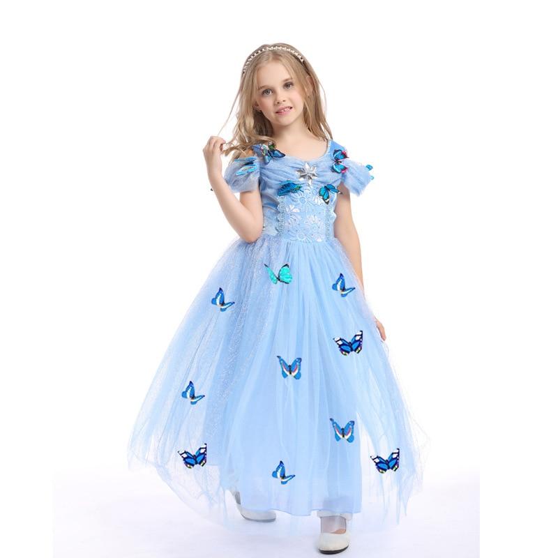 2018 New Kids Clothing Girl Formal Dress Princess Childrens Evening