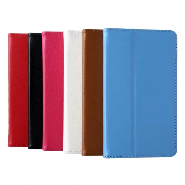 Ultra Slim Litchi Grain 2-Fold Folio Stand Leather Cover Pouch Bag Protector Case For Lenovo Tab 2 A7-10F A7-10 A7 10F 7 Tablet luxury ultra thin slim folio stand cover magnetic leather case 1x clear screen protector for lenovo tab 2 tab2 7 0 a7 10f 7