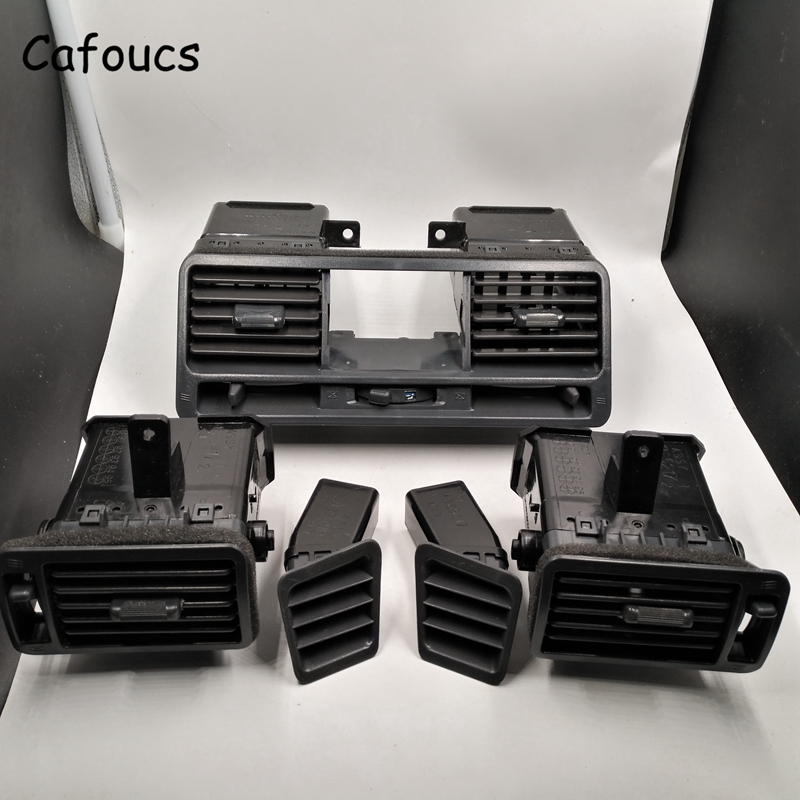 Cafoucs Car Air Conditioning Outlet Vent For Mitsubishi Pajero Montero V24 V31 V32 V33 V43 V44 1990-2004 air-condition Outlet автосигнализация pharaon v24