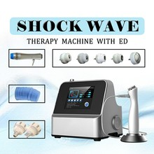 Compressor Unlimited Shots Shock Wave Machine Shockwave Therapy Machine Extracorporeal Shock Wave Equipment DHL CE normal shock wave