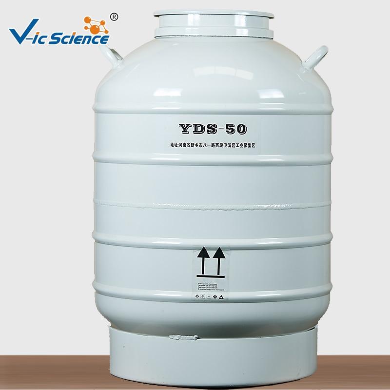 YDS-50B Small Capacity Cryogenic Liquid Nitrogen TankYDS-50B Small Capacity Cryogenic Liquid Nitrogen Tank