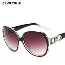ZXWLYXGX 2018 Gafas Oversized Gradient Sunglasses Women Brand Designer Classic Sun Glasses Vintage Oculos De Sol стоимость