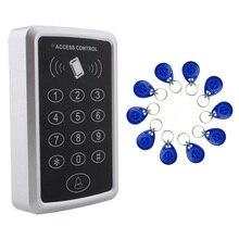 Специальная цена+ 10 rfid тег+ радиокарточка система контроля доступа RFID/EM циферблат карта дверь контроля доступа открывалка
