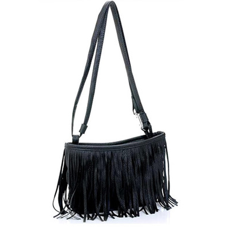 Mini Fringe Tassel Small Shoulder Crossbody Women Messenger Bag Famous Brand Bolsos Bolsas Sac A Main Femme De Marque