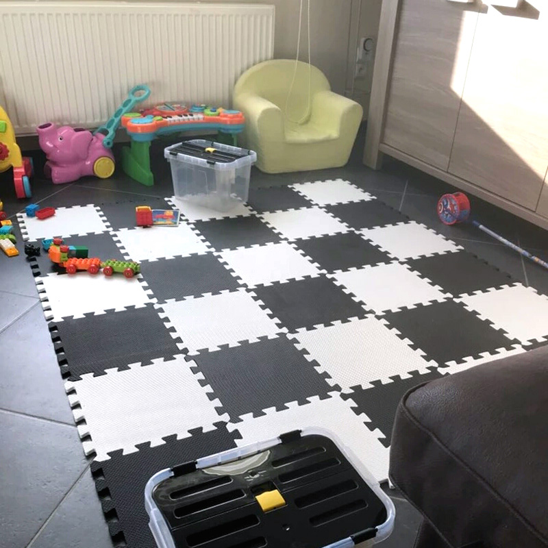 Aliexpress Com Buy Baby Play Mat Plain Color Puzzle Mats