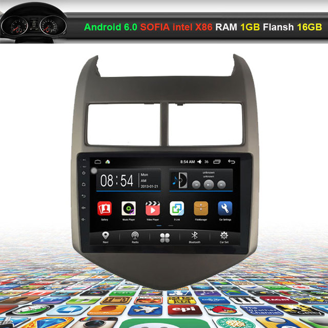 9 Inch Car Video Audio Player For Chevrolet Aveo 2011 2013