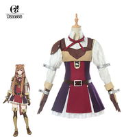 ROLECOS Anime The Rising of the Shield Hero Cosplay Costumes Raphtalia Full of Sets with Belt for Women Cosplay Suits
