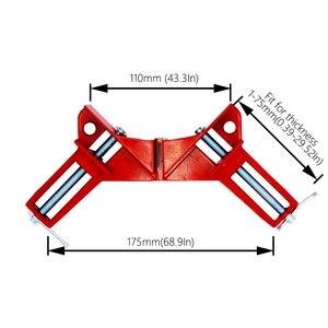 Image 5 - 4 шт./лот 4 дюймовый Многофункциональный угловой зажим, прямоугольный 90 градусный прямоугольный зажим для деревообработки, зажим для фоторамки