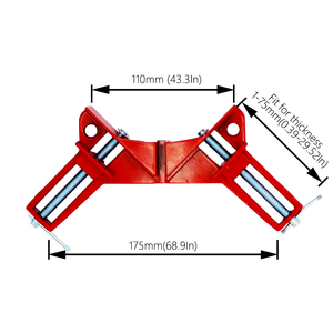 Image 5 - 4pcs/lot 4inch Multifunction corner clamp right angle 90 degree right angle clamps  for woodworking Clip Picture Frame