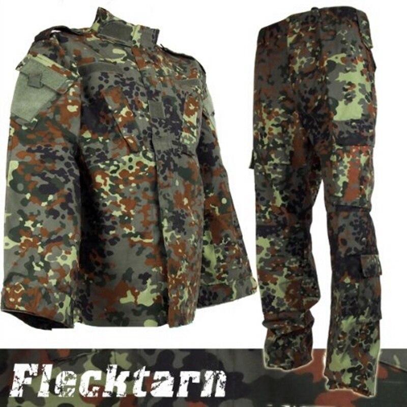 Страйкбол cqc Тактический армии Военная Униформа BDU форма боевой рубашка и брюки для девочек комплект Открытый Пейнтбол Одежда охоты пособия...