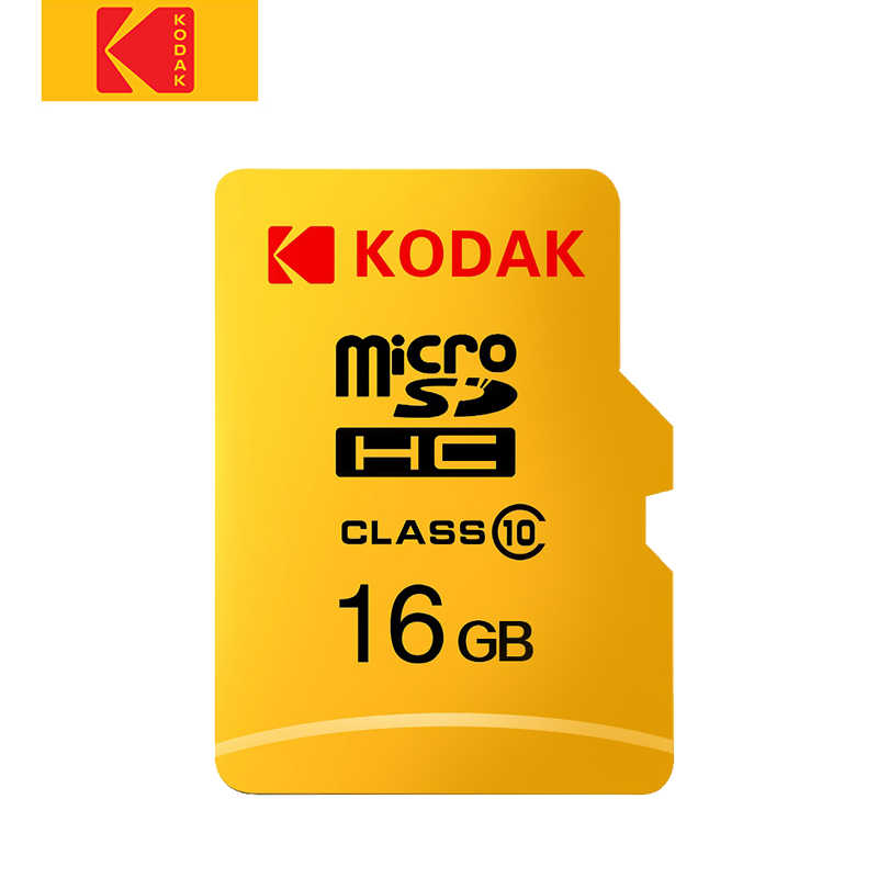 Kodak wysokie obroty mikro sd16GB karta TF karta SD 32GB cartao de memoria class10 U1 64GB karta pamięci flash 128GB