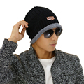 Fashion Thicken Unisex Skullies Knit Men's Winter Balaclava Bonnet Women  Winter Hats For Men Beanie Warm Baggy Knitted Hat