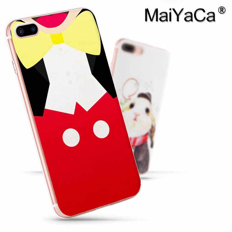 MaiYaCa Микки Маус Микки 2017 Новый роскошный модный чехол для сотового телефона Apple iPhone 8 7 6 6 S Plus X 5 5S SE XS XR XS максимальный чехол
