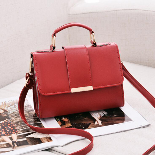 REPRCLA 2020 Summer Fashion Women Bag Leather Handbags PU Shoulder Bag Small Flap Crossbody Bags for Women Messenger Bags