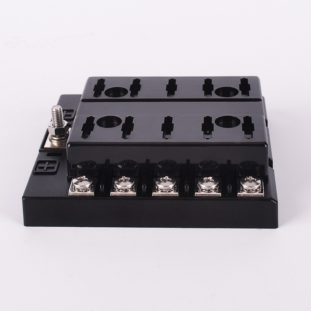 vodool 32v 10 way fuse box 2a 3a 5a 7 5a 10a 15a 20a 25a 30a 35a block holder box for universal car high quality in fuses from automobiles motorcycles on  [ 1000 x 1000 Pixel ]