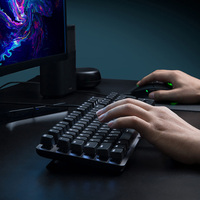 Xiaomi MIIIW 600K Mechanical Gaming Keyboard 104 Key Kailh Red Switch Backlight 6 Mode Backlight USB Wired Keyboard for Gamer