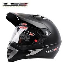 Nuovo arrivo capacete casco LS2 moto cross caschi professionale Mens off road moto rcycle casco Dirt Bike Rally racing moto casco