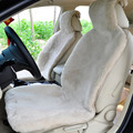 1 pc  For One Front seat Sheepskin camel's hair color  steering-wheel   car styling   covers for cars Car Seat Covers