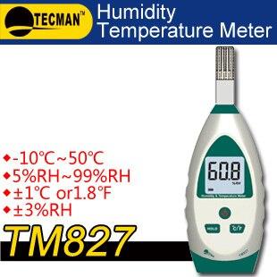 TECMAN TM827 Temperature and humidity meter tester measuring instrument