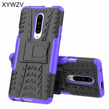 For Oneplus 7 Case Shockproof Armor Soft Silicone Hard PC Phone Back Cover Holder Fundas