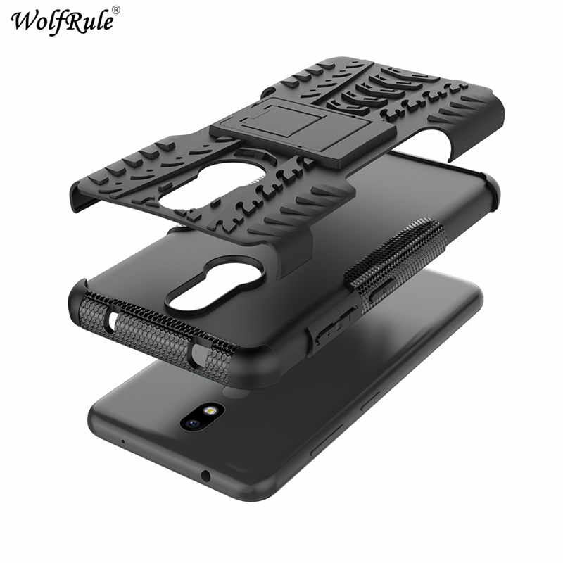 "Image 5 - Phone Case sFor Nokia 3.2 Case 6.26"" Dual Layer Armor Shells TPU+PC Shockproof Cover For Nokia 3.2 Cover For Nokia 3.2 2019 Case-in Fitted Cases from Cellphones & Telecommunications"