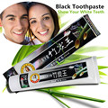 Новый Bamboo Уголь универсальный Отбеливание Зубов Черный Зубная Паста Зубная Паста