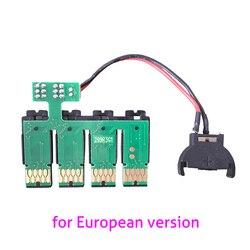 Nowy CISS frytkami łukowych dla Epson T2991 - T2994 CISS do projektora Epson XP235 XP245 XP332 XP335 XP342 XP432 XP435 drukarki mikroprocesor automatycznego resetowania