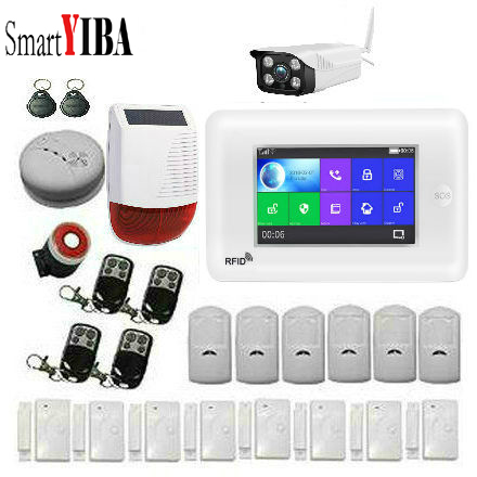 SmartYIBA 3G WiFi Drahtlose Smart Alarm System Sicherheit Home mit Video IP Kamera Anti Diebstahl System mit PIR sensor APP Control - 5