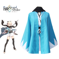 Fate Grand Order Okita Souji Cosplay Sakura Saber Japanese Anime Costumes Fate Stay Night Comic Cosplay