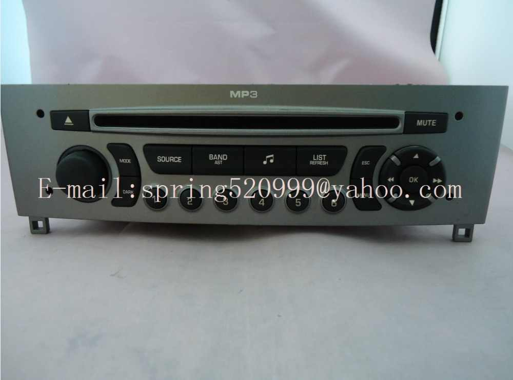 Brand new VDO RD4 CD PSARCD444 A2C53376781 A2C53424364 with MP3 For Peugeot 308 408 Citroen car radio tuner