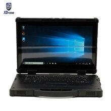 2019 KX14 Rugged Laptop Tablet PC Windows 7 10 Waterproof De