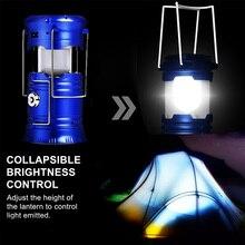 Linterna Plegable Solar para Camping