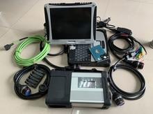2019 Супер MB Звезда диагностический инструмент SD Подключение C5 с ноутбуком CF-19 toughbook 4G 2019,07 v HDD нескольких языков win7 Для SD C5