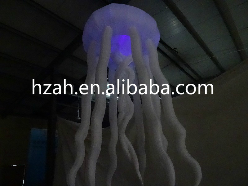 Lighting Inflatable Jellyfish Balloon for Party Decoration giant inflatable balloon for decoration and advertisements