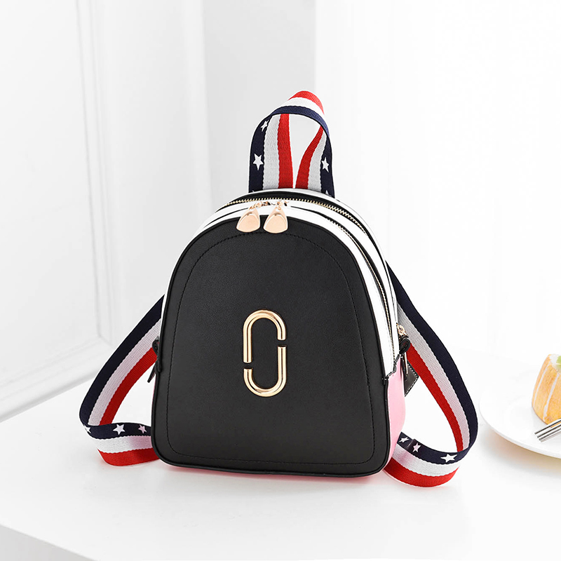 2019 New Fashion Colorful Straps Backpacks Summer Women Casual Backpacks