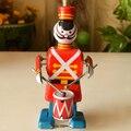Banda de música Robot Juguetes Clásicos Juega Los Tambores Clockwork Tin Toy Retro Adulto Regalo de Colección
