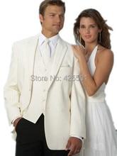 2016 Latest Coat Pant Vest Designs 3 Pieces font b Men b font Wedding font b