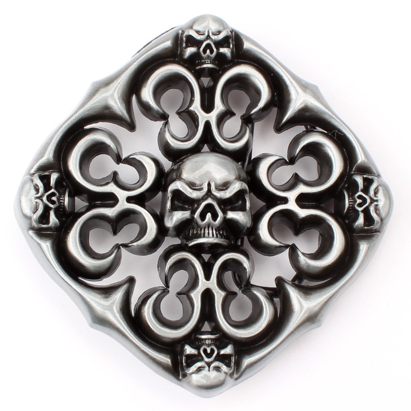 Hollow Out Ghost  Belt Buckle