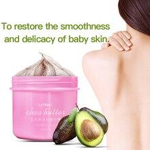 LAMILEE Exfoliating Gel Body Scrub Cream Shea Butter Fruit Skin Whitening Go Cut
