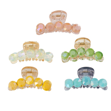 CHIMERA Hair Claw Crab Rhinestone Pins for Women Girls Fashion Acrylic Barrettes Korean Style Headwear Hairpin Accessories