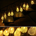 20 LED Mesh Ball Fairy String Light Wedding Party Patio Xmas Lamp Battery Power
