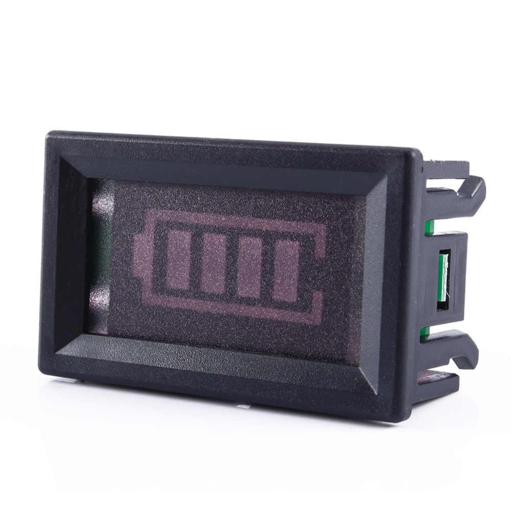 12 فولت حمض الرصاص جهاز اختبار بطارية نسبة مؤشر الطاقة مجلس بطارية اختبار قدرة أدوات قياس