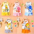 Brand New Children's Set Kid's T-shirts For Baby Girls Boys Clothes T shirt+pants Undershirt Shorts Baby Clothing Set
