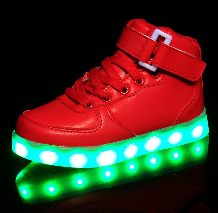 STRONGSHEN-New-USB-Charging-Kids-Sneakers-Fashion-Luminous-Lighted-Colorful-LED-lights-Children-Shoes-Casual-Flat-Boy-girl-Shoes-3
