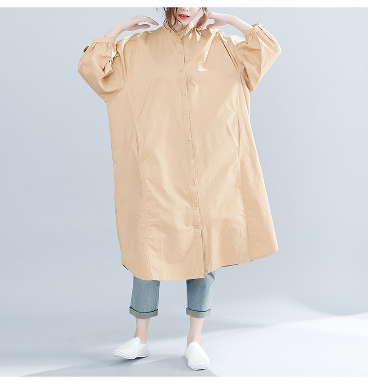 Women Blouses Stand Color 10
