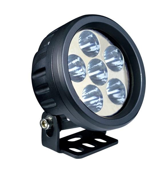 18 w MINI A MENÉ le guide Optique pour 4x4 offroad camion tracteur E9 LED Travail Lumière Blanche et Jaune SUV ATV UTV CONDUIT Feux De Conduite