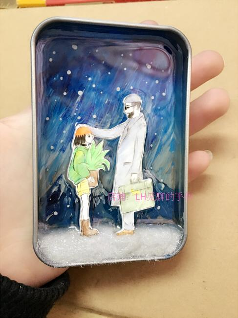 [This killer is not too cold] hand-painted 3d three-dimensional resin painting the origi ...