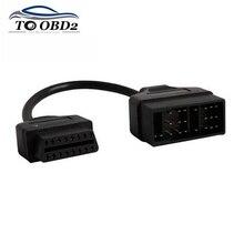 Für Toyota 22Pin zu OBDII 16Pin Buchse Adapter Kabel DLC Blei Für Toyota 22 Pin Weibliche zu OBD2 16 pin Kostenloser Versand